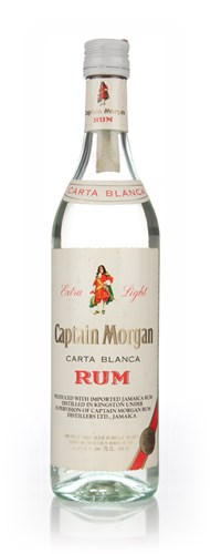 Captain Morgan Carta Blanca (40%) - 1970s