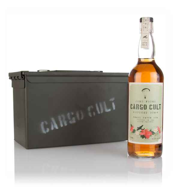 Cargo Cult Spiced Rum with Gift Box