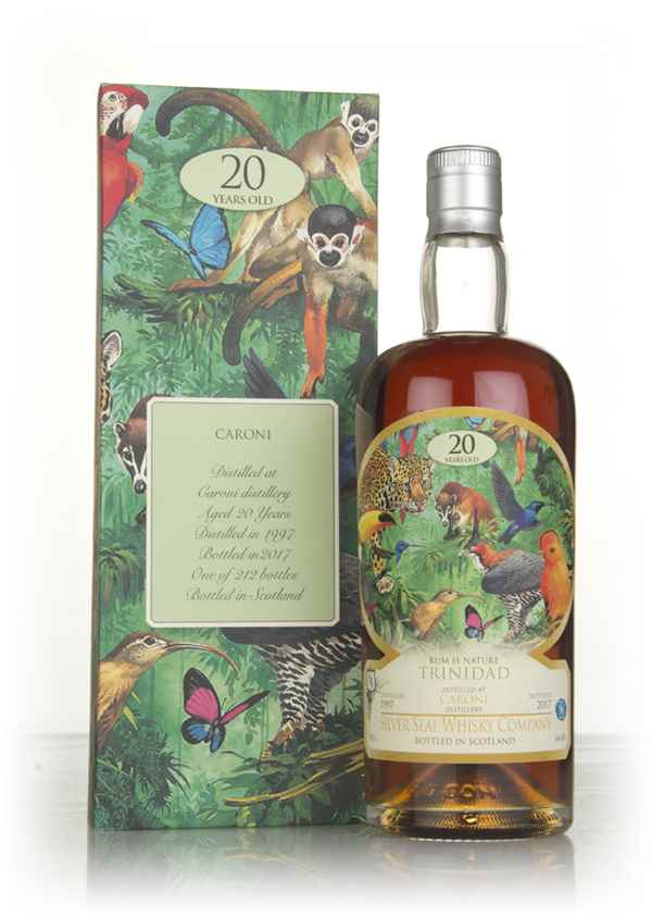 Caroni 20 Year Old 1997 - Rum is Nature (Silver Seal)
