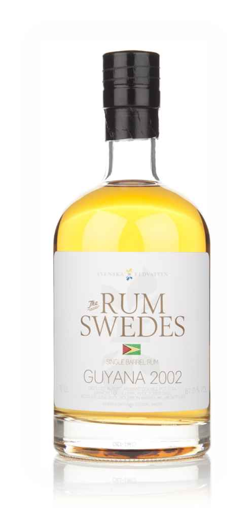 Diamond Distillery 2002 (cask 6) Guyana Single Barrel Rum  - The Rum Swedes (Svenska Eldvatten)