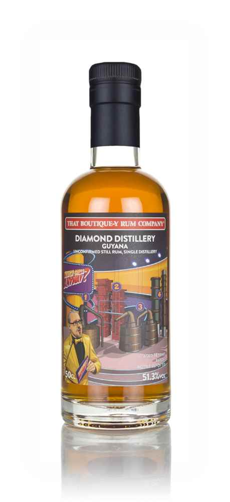Diamond Distillery (Unconfirmed Still) 18 Year Old (That Boutique-y Rum Company)