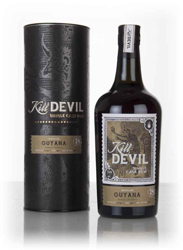 Enmore 24 Year Old 1992 Guyanese Rum - Kill Devil (Hunter Laing)