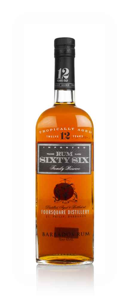 Rum Sixty Six 12 Year Old (40%)