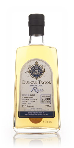 Hampden 13 Year Old 2000 (cask 34) - Single Cask Rum (Duncan Taylor)