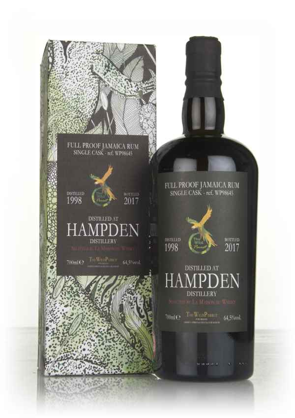Hampden 1998 (cask WP98645) - The Wild Parrot (Hidden Spirits)