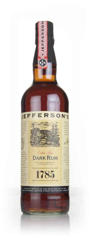Jefferson's 1785 Dark Rum