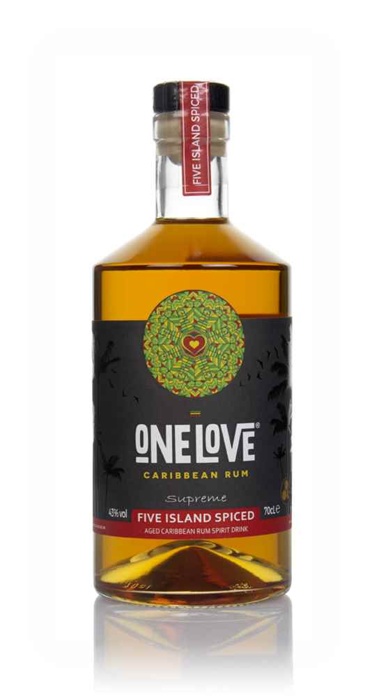 One Love Five Island Spiced Rum