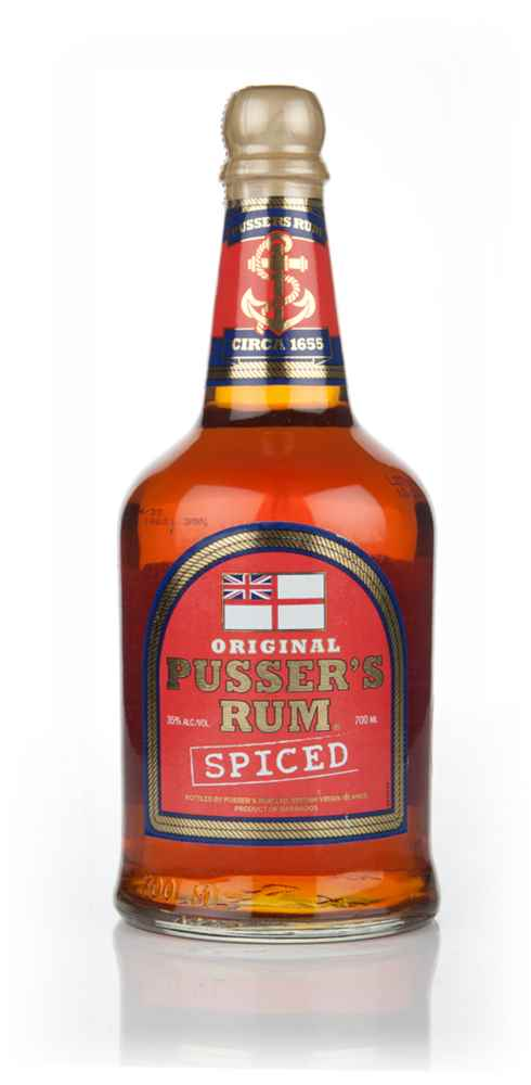 Pusser's Spiced Rum Spirit Drink