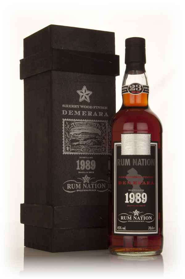 Rum Nation Demerara 23 Year Old 1989