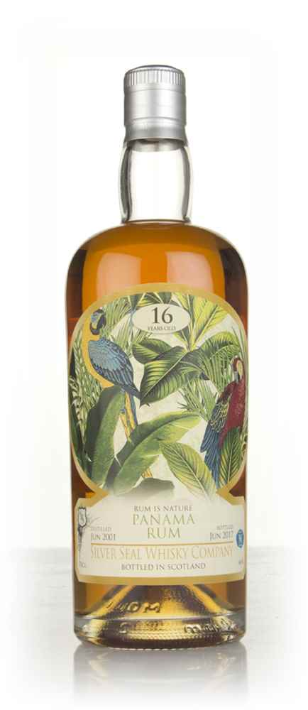 Panama Rum 16 Year Old 2001 - Rum is Nature (Silver Seal)