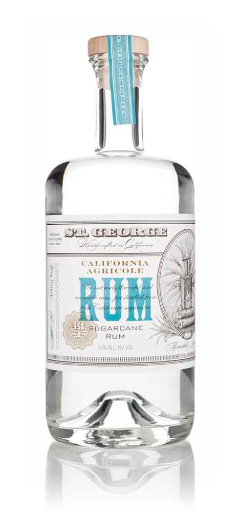 St. George California Agricole Rum (Harvested 2014)