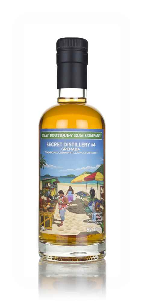 Secret Distillery #4 20 Year Old (That Boutique-y Rum Company)