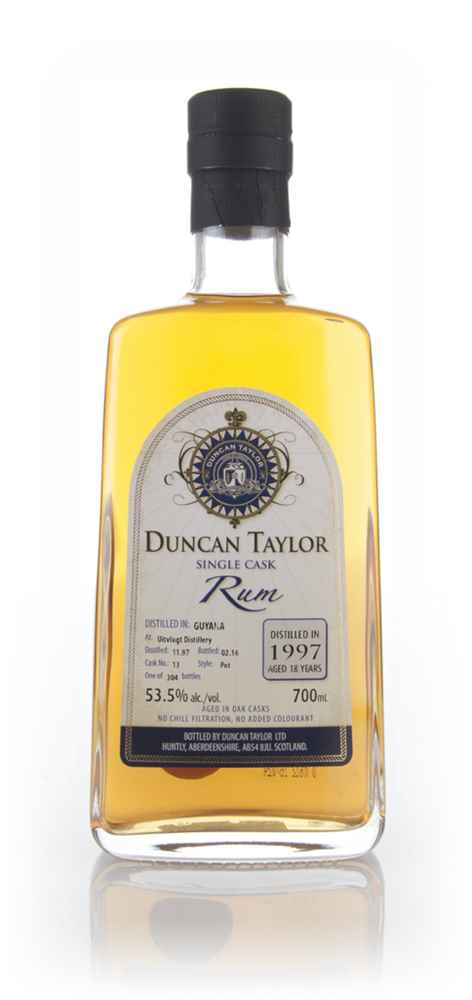 Uitvlught 18 Year Old 1997 (cask 13) Duncan Taylor