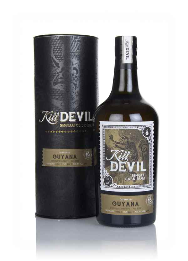 Uitvlugt 16 Year Old 1999 Guyanese Rum - Kill Devil (Hunter Laing)