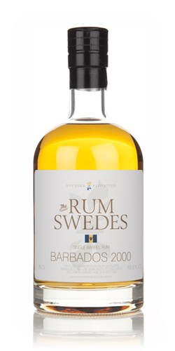 West India Distillers 2000 (cask 36) Barbados Single Barrel Rum - The Rum Swedes (Svenska Eldvatten)
