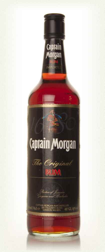 Captain Morgan Original Rum (old label)