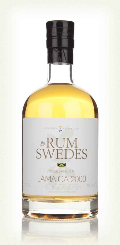 Hampden Distillery 2000 (cask 4) Jamaica Single Barrel Rum - The Rum Swedes (Svenska Eldvatten)
