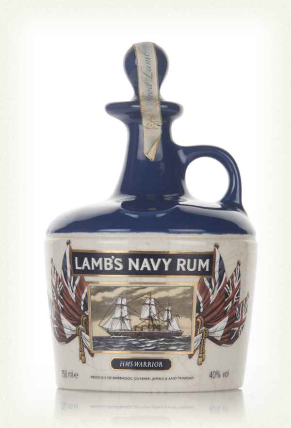 Lamb's Navy Rum Decanter - 1980s