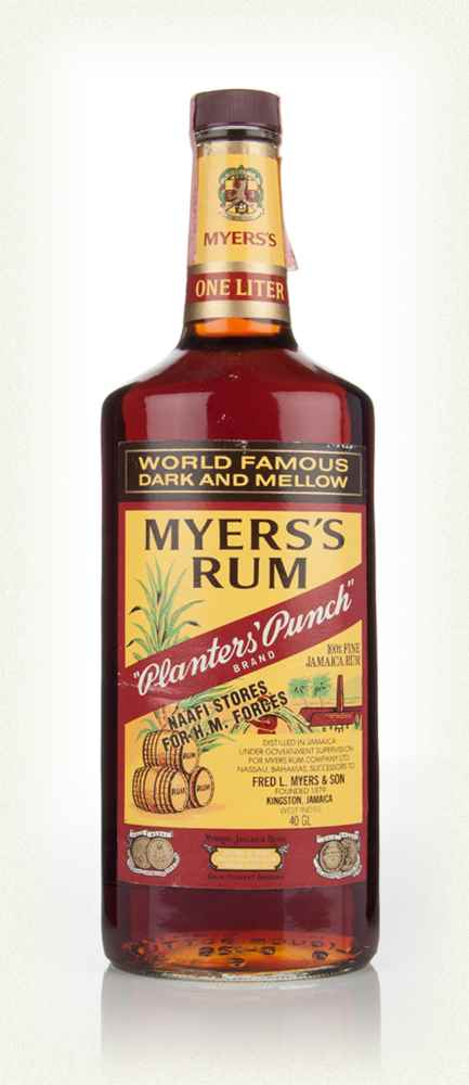 Myers's Planters' Punch Rum - 1983