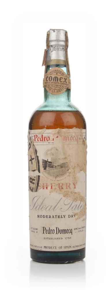 Pedro Domecq Ideal Pale Moderately Dry Sherry - 1950s