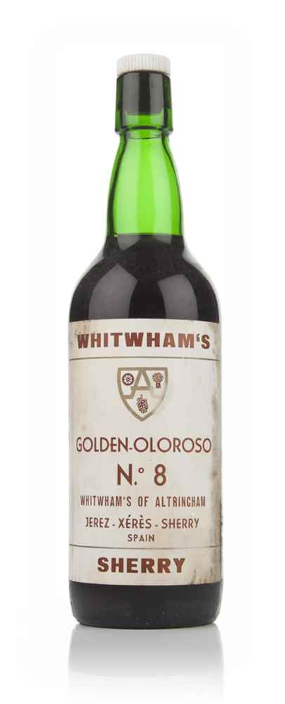 Whitwham's Golden Oloroso No. 8 Sherry - 1970s