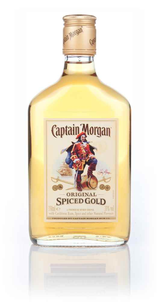 Captain morgan original spiced rum 35cl buy now for Mix spiced rum with
