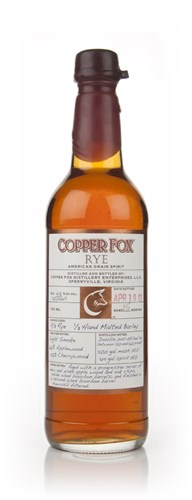 Copper Fox Rye (Bottled April 2013)