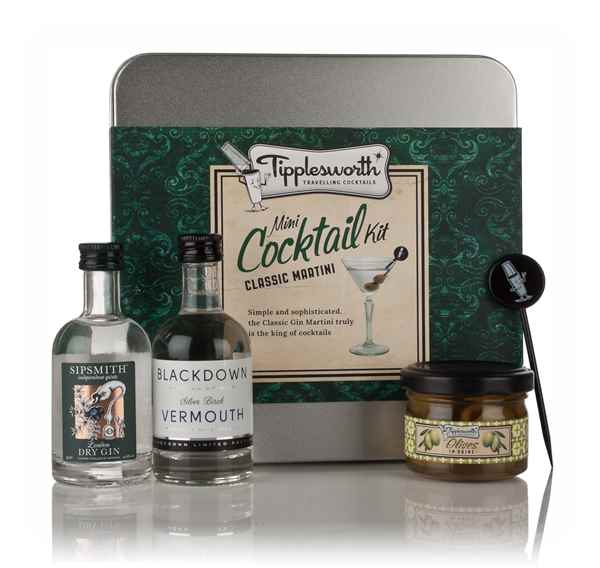 Tipplesworth Classic Martini Mini Cocktail Kit
