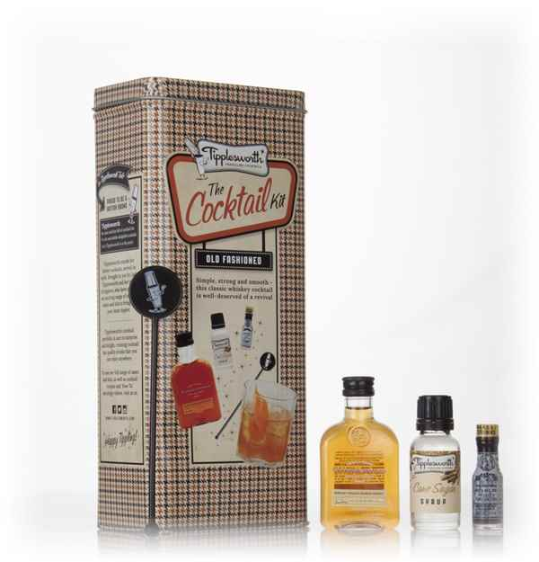 Tipplesworth old fashioned cocktail kit spirit master of for Cocktail 7cl
