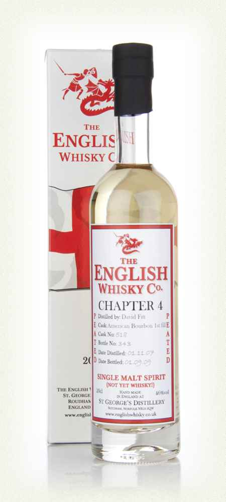 English Whisky Co. Chapter 4 20cl