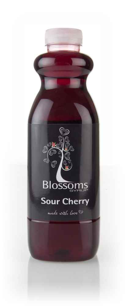 Blossoms Sour Cherry Syrup 1l