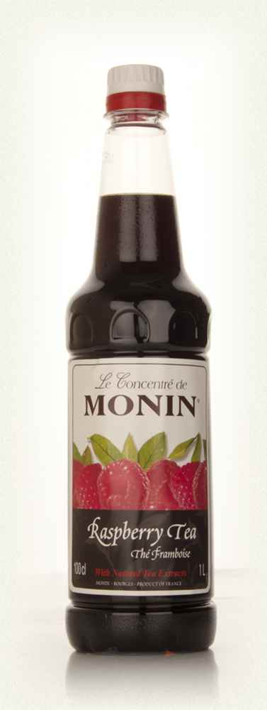 Monin Thé Framboise (Raspberry Tea) Concentrate 1l