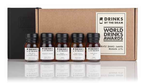 World Drinks Awards 2016 Brandy Winners Tasting Set