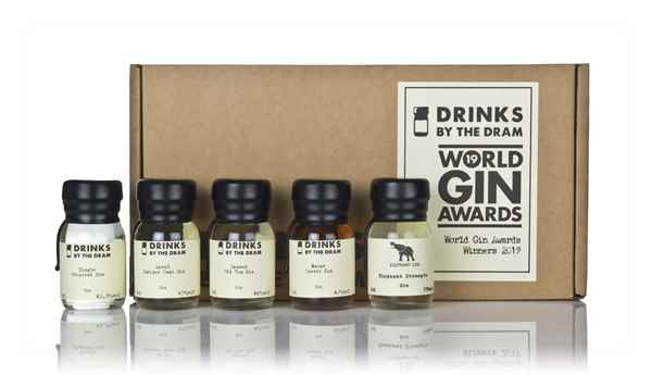 World Gin Awards Winners 2019 Tasting Set