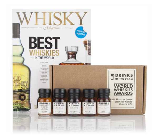 World Whiskies Awards 2016 American Whiskey Winners Tasting Set
