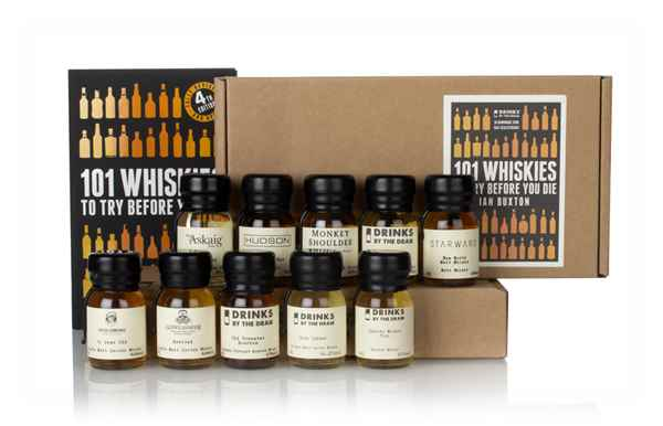 Ian Buxton 101 Whiskies to Try Before You Die Tasting Set