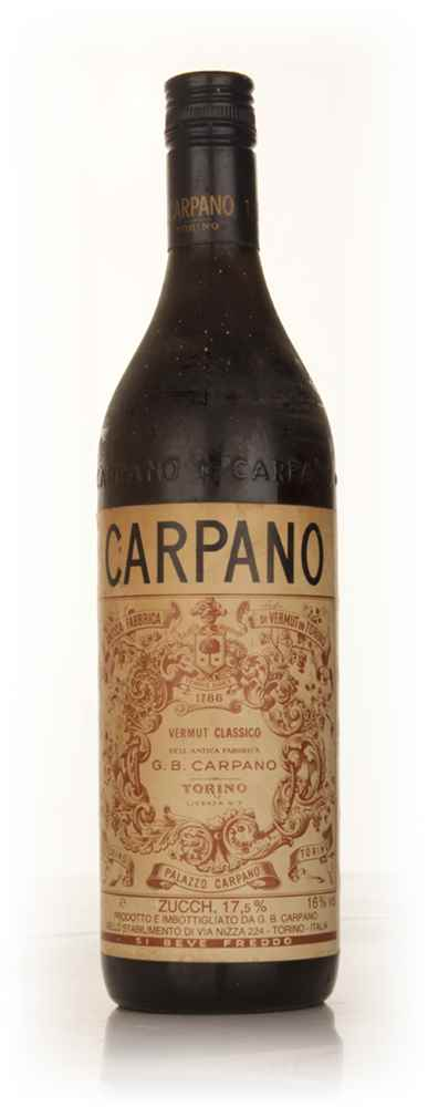 Carpano Vermouth Classico - early 1980s