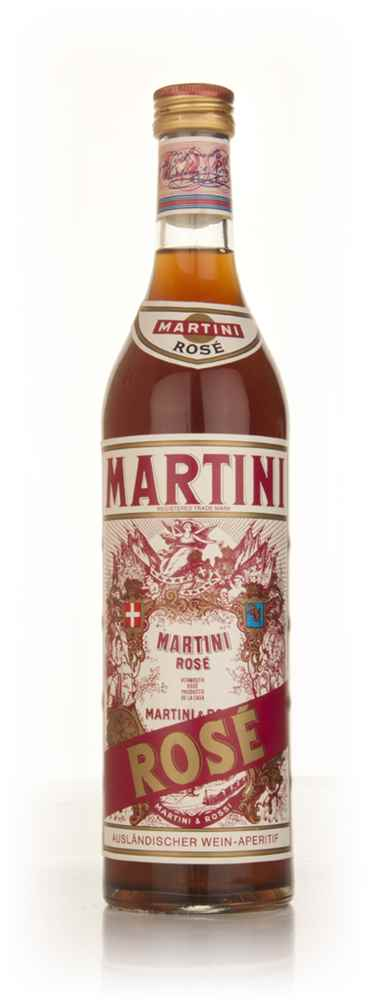 Martini Rosé - early 1980s