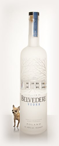 Belvedere Vodka with Light 6l