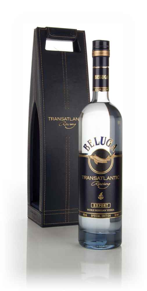 Beluga Vodka Transatlantic Racing Special Edition with Leather Case