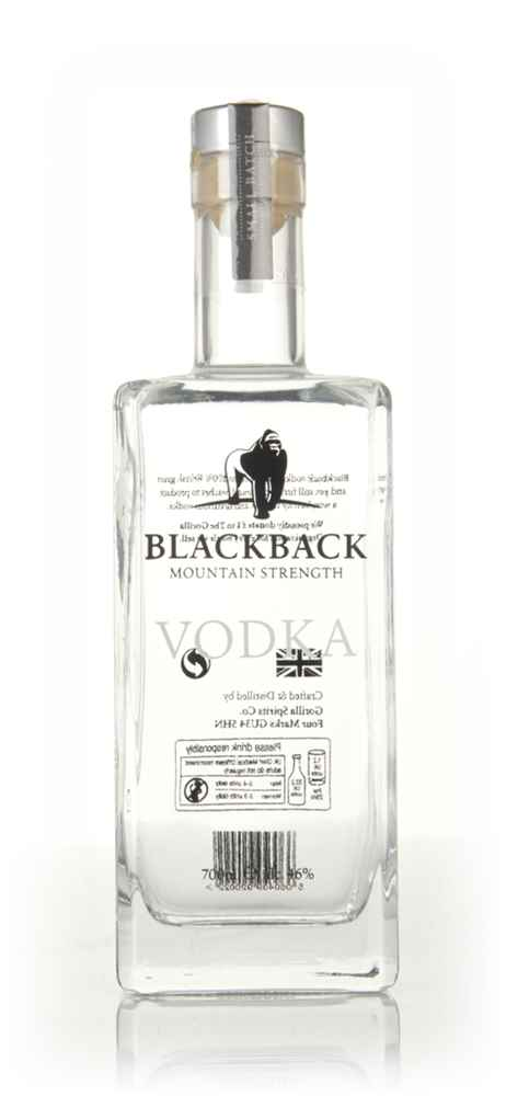 Blackback Mountain Strength Vodka (Old Bottling)