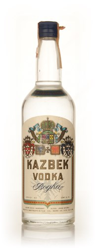 Kazbek Vodka - 1970s