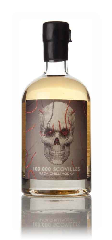 100,000 Scovilles Naga Chilli Vodka