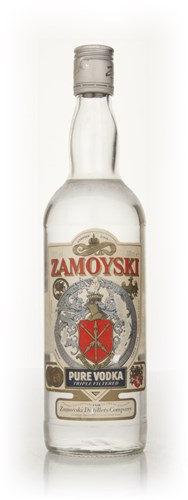 Zamoyski Vodka - early 1980s