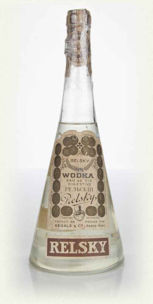 Relsky Vodka - 1950s