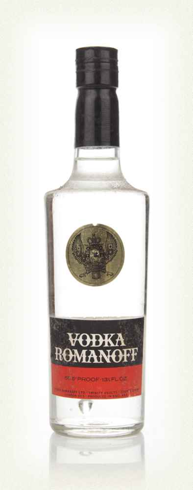 Romanoff Vodka - 1970s (37.5cl)