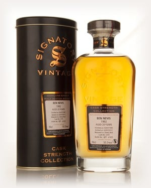 Ben Nevis 20 Year Old 1992 (cask 2310) - Cask Strength Collection (Signatory)