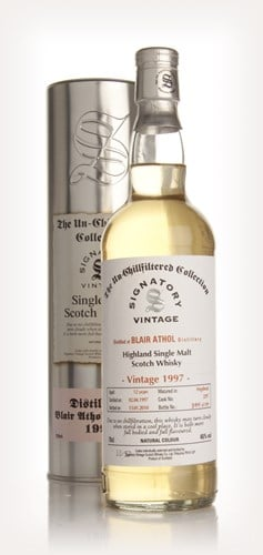 Blair Athol 12 Year Old 1997 - Un-Chillfiltered (Signatory)