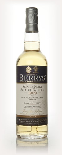 Bowmore 22 Year Old 1989 (Berry Bros. & Rudd)
