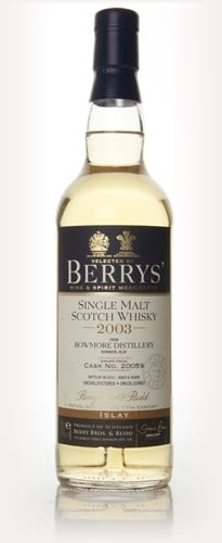 Bowmore 8 Year Old 2003 (Berry Bros. & Rudd)
